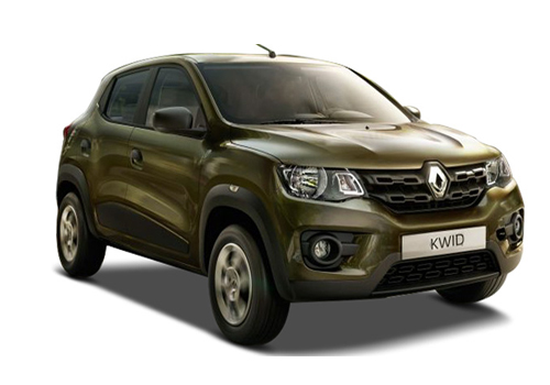 Renault Kwid Front Low Angle View Exterior Picture