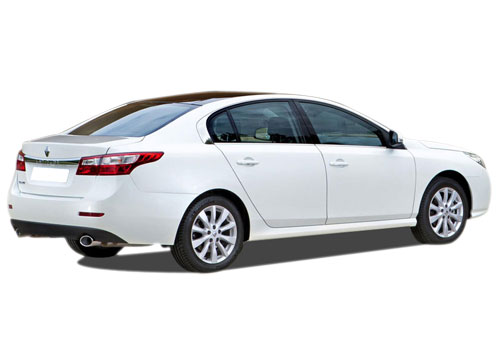 Renault Latitude Rear Angle View Exterior Picture