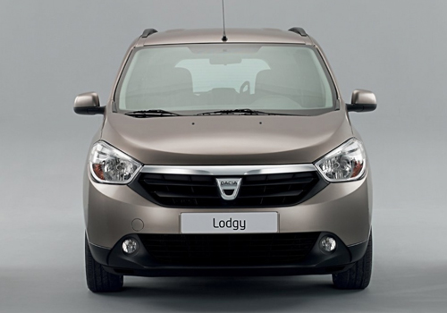 Renault Lodgy Front View Picture