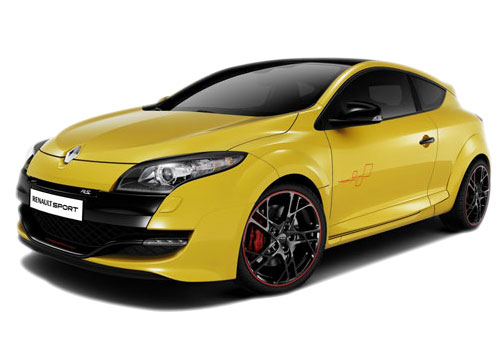 Renault Megane Front View Picture