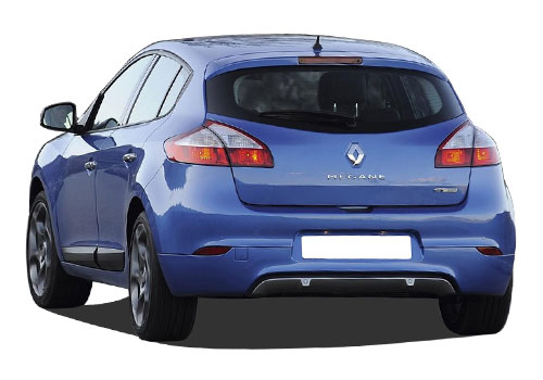 Renault Megane Rear View Exterior Picture