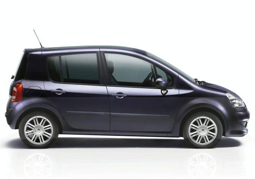 Renault Modus Side Medium View Exterior Picture