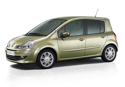 Renault Modus Front Medium View Exterior Picture