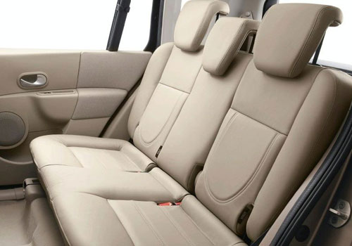 Renault Modus Rear Seats Interior Picture