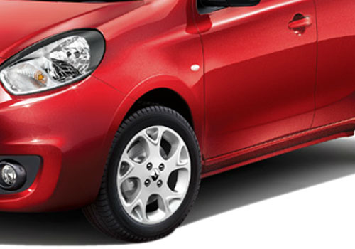 Renault Pulse Wheel and Tyre Exterior Picture
