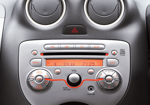 Renault Pulse Stereo Interior Picture