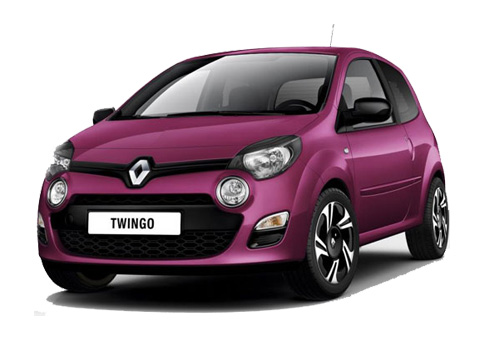 Renault Twingo Front Angle View Exterior Picture