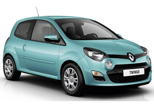 Renault Twingo Front Side View Exterior Picture