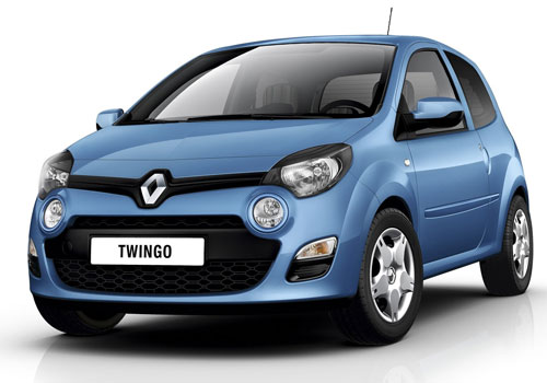 Renault Twingo Front High Angle View Exterior Picture
