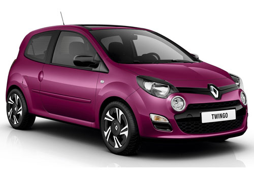 Renault Twingo Front Low Angle View Exterior Picture