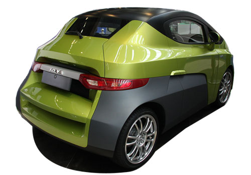 Reva NXG Rear Angle View Exterior Picture