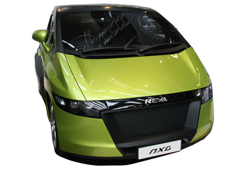 Reva NXG Front Low Angle View Exterior Picture