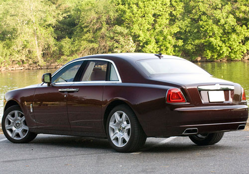 Rolls-Royce Ghost Cross Side View Picture