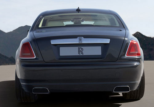 Rolls-Royce Ghost Rear View Exterior Picture