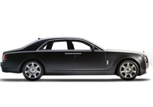 Rolls-Royce Ghost Side Medium View Exterior Picture