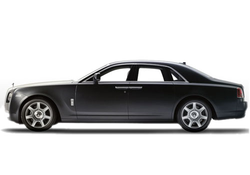 Rolls-Royce Ghost Front Angle Side View Exterior Picture
