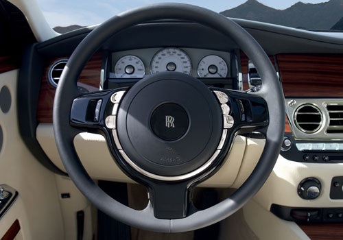 Rolls-Royce Ghost Steering Wheel Interior Picture