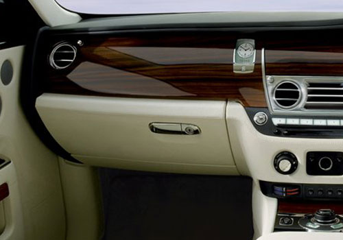 Rolls-Royce Ghost Side AC Control Interior Picture