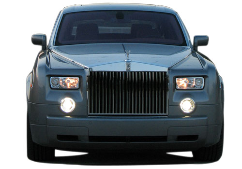 Rolls Royce Front View Picture