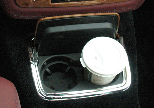 Rolls-Royce Phantom Cup Holders Interior Picture