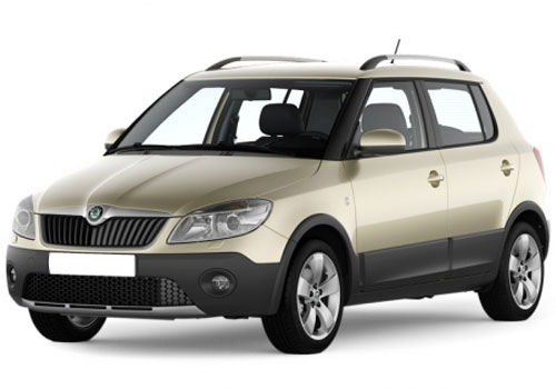 Skoda Fabia Scout Pictures