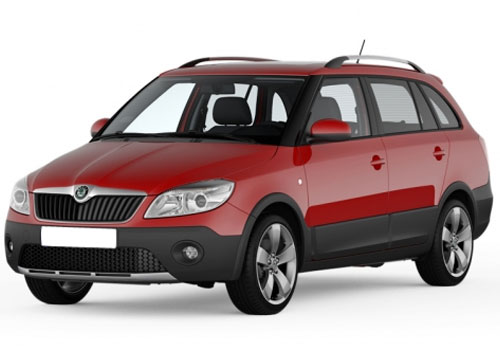 Skoda Fabia Scout Front Angle View Exterior Picture