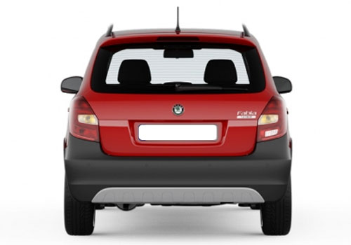 Skoda Fabia Scout Rear View Exterior Picture
