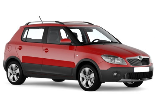 Skoda Fabia Scout Front Side View Exterior Picture