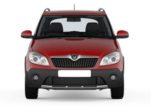 Skoda Fabia Scout Front View Exterior Picture
