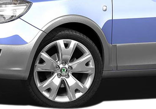 Skoda Fabia Scout Wheel and Tyre Exterior Picture