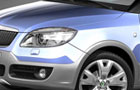 Skoda Fabia Head Light Pictures