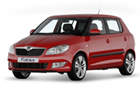 Skoad Fabia in Red Color