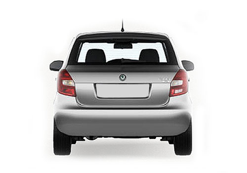 Skoda Fabia Rear View Exterior Picture
