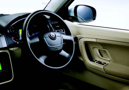 Skoda Fabia Steering Wheel Picture