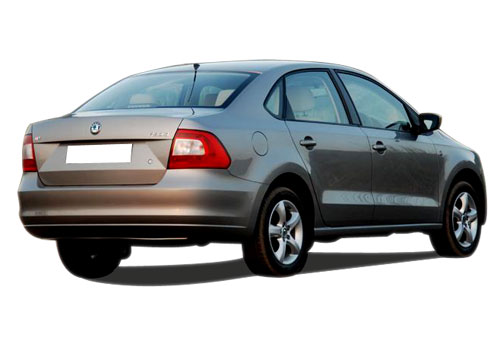 Skoda Rapid Rear Angle View Exterior Picture
