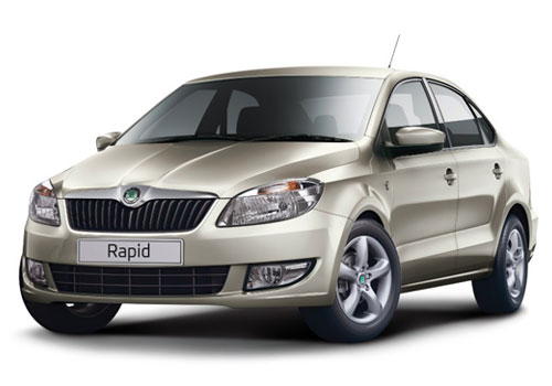 Skoda Rapid Front High Angle View Exterior Picture
