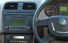 Skoda Rapid Front AC Controls Picture