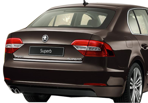 Skoda Superb Cross Side View Exterior Picture