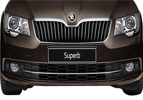 Skoda Superb Front View Picture