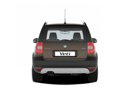 Skoda Yeti Rear View Exterior Picture
