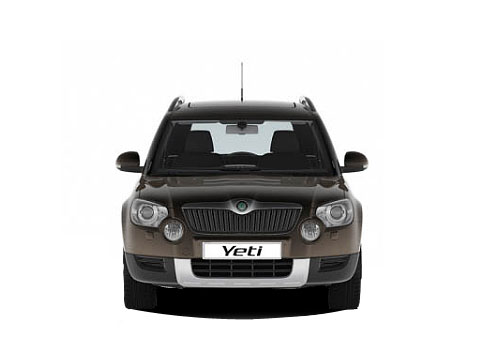 Skoda Yeti Front  View Picture