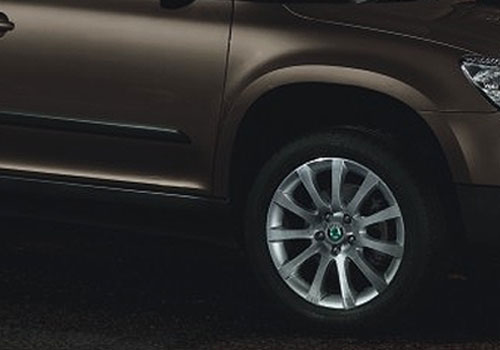 Skoda Yeti Wheel and Tyre Exterior Picture