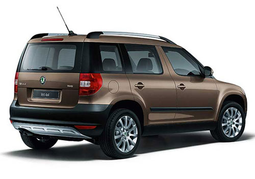 Skoda Yeti Cross Side View Exterior Picture