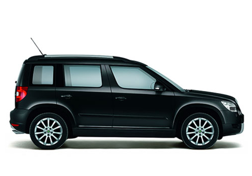 Skoda Yeti Side Medium View Exterior Picture