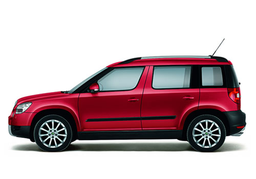 Skoda Yeti Front Angle Side View Exterior Picture