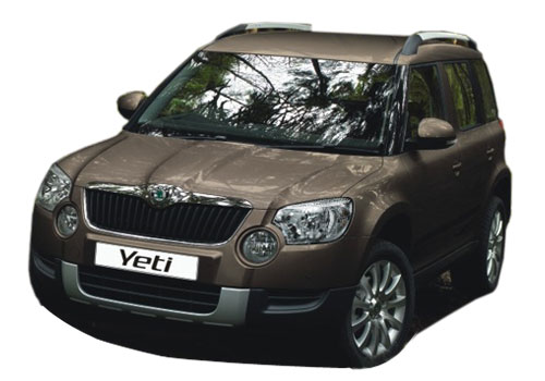 Skoda Yeti Front High Angle View Exterior Picture