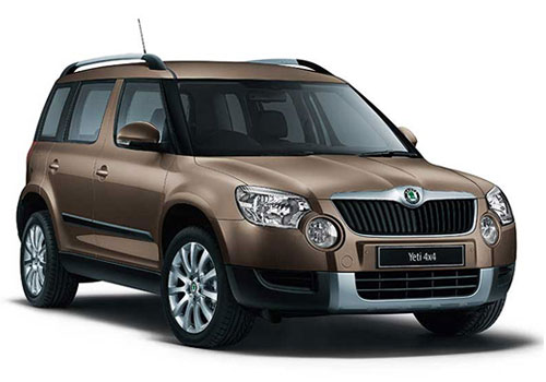 Skoda Yeti Front Low Angle View Exterior Picture