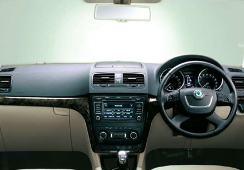 Skoda Yeti Dashboard Interior Picture