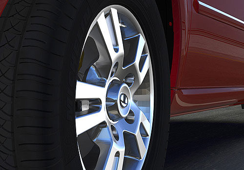 Tata Aria Wheel and Tyre Exterior Picture