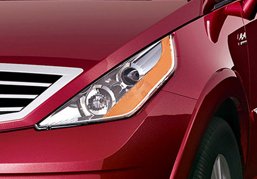 Tata Aria Headlight Exterior Picture